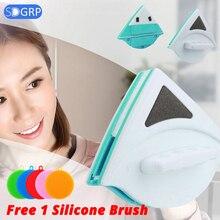 Магнитная щетка для мытья окон Магнитный стеклоочиститель/мойка/стеклоочиститель чистящее стекло магнит для мытья окон чистящие инструменты 3-30 см