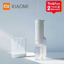 Xiaomi mijia meo701 irrigador oral portátil dentes irrigador dental água flosser bucal dente mais limpo waterpulse 200ml 1400/min