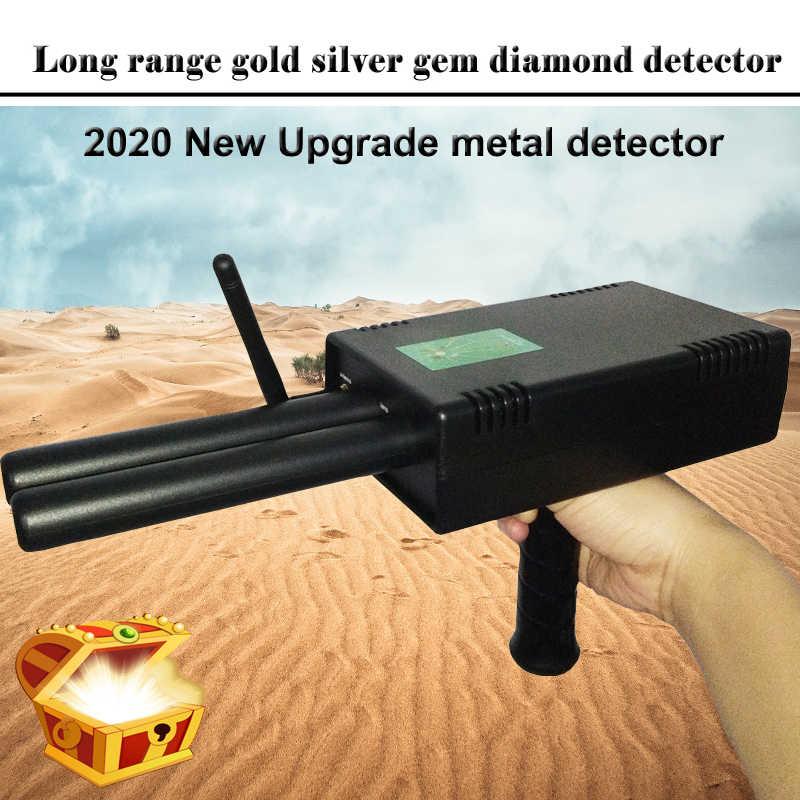 AKS PLUS détecteur de métaux 3D à longue portée, gemmes et diamants, nouvelle mise à niveau 2019