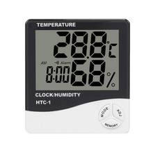 Digital Weather Station Wireless Indoor Outdoor Window Hydrometer Thermometer Temperature for Baby Bedroom(China)