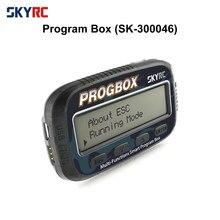 Skyrc progbox seis-em-um programa inteligente caixa para rc modelo esc configuração servo motor kv/rpm tester lipo bateria monitor SK-300046