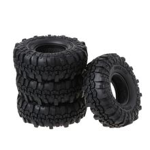 4pcs 1.9 inch 110mm Rock Crawler Tire Wheel with Foam for 1/10 Axial RC Car