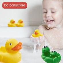 Bc babycare 4 шт Симпатичные лягушки детские игрушки для душа