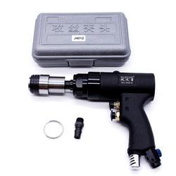 200rpm pneumatyczne maszyna do gwintowania przenośne powietrze wiertarka Tapper narzędzie Handheld + 6pc M3/M4/M5/(M6-8)/M10/M12 zestaw uchwytów wiertarskich