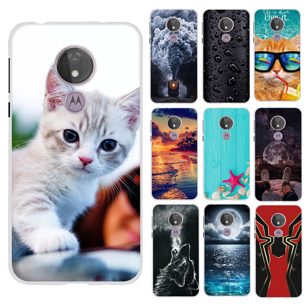 For Motorola Moto G7 Power Case Silicone Cover Funda For Motorola G7 Power Capa Romantic Bumper For Moto G7 Power Coque