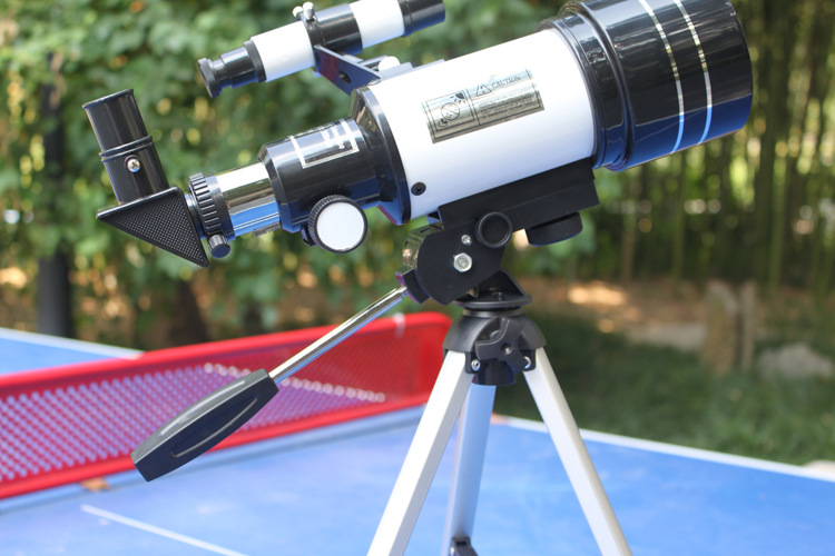 F30070 telescópio astronômico 150x visão noturna telescópio