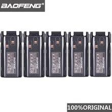 5 pz nuovo originale Baofeng UV 82 UV 8D walkie talkie 10km batteria agli ioni di litio 2800mAh BL 8 per UV 8D UV 82 CB Radio Pofung UV82 UV8D