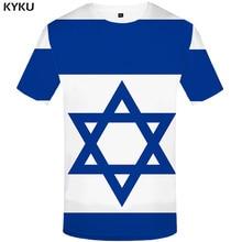 Funny T shirts Israel Flag T shirt Men Israel Tshirts Casual Geometric Tshirt Printed Blue T-shirts 3d Harajuku Anime Clothes boegli boegli m 2 israel