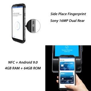 """Image 4 - Blackview BV9500 プラスエリオ P70 オクタコア 10000 2600mah のスマートフォン IP68 防水 4 ギガバイト + 64 ギガバイト 5.7 """"18:9 fhd nfc 携帯電話アンドロイド 9.0"""