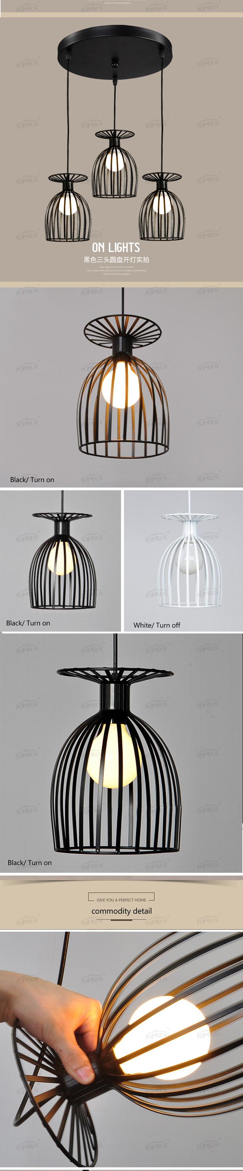 Luminárias de iluminação vintage, lustre para sala