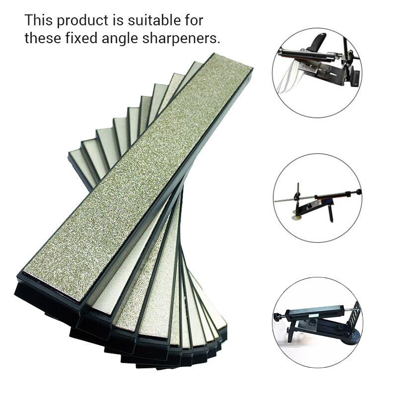 Diamond Sharpening Stones Kitchen Knife Sharpener For Ruixin Sharpening System 80 150 400 800 1200 2000 3000 Grit H5