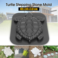 50^Turtle Stone Mould Road Making Tool butterfly Plastic Path Mold Manually Conc
