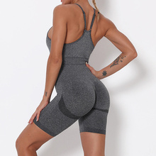 Seamless Sports Wear Women Suit Yoga Sets Short Fitness Outfit For Gym Clothing Workout Clothes Athletic