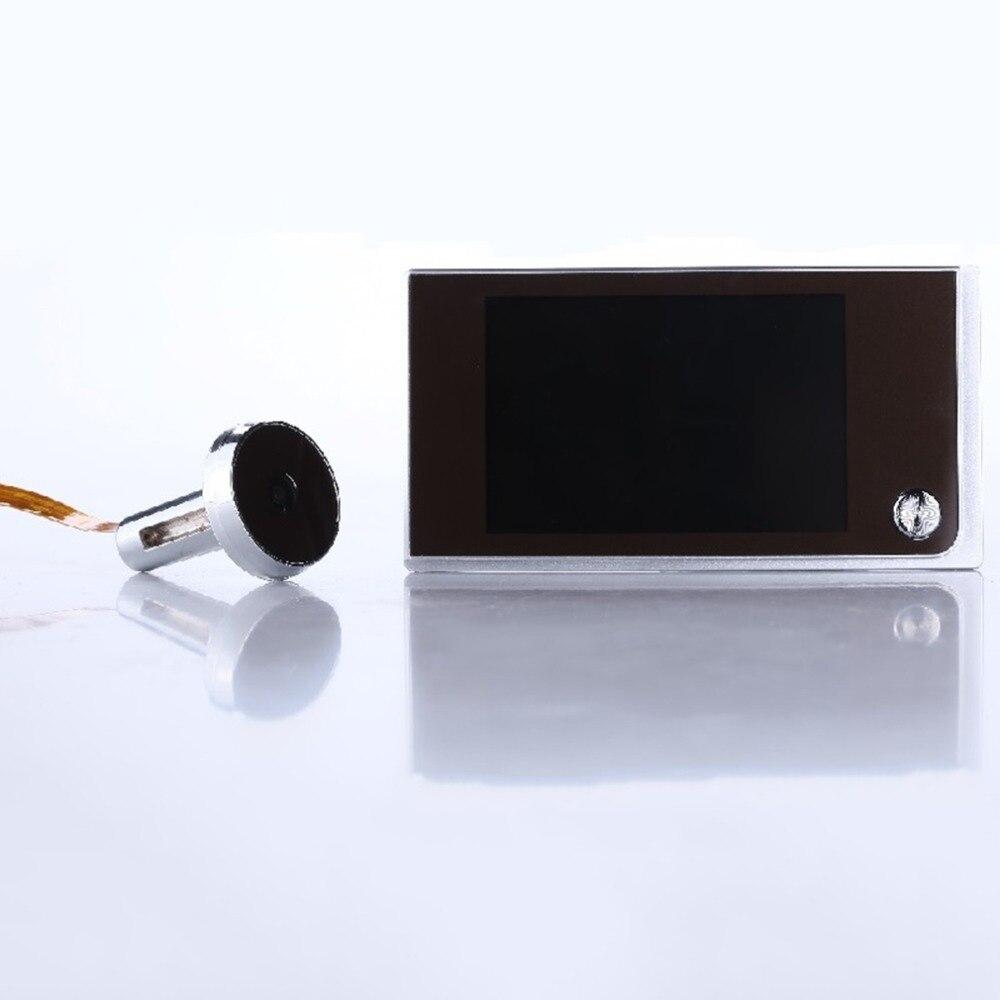 Многофункциональная Домашняя безопасность 3,5 дюймов lcd цветная цифровая TFT память дверной глазок дверной звонок Камера Безопасности абсолю...