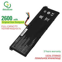 Golooloo 15,2 v 2600mAh batería del ordenador portátil Para ACER Aspire ES1-531-C7KL ES1-711 AC14B8K R3-131T R7-371T V3-111/111 P/112 P/371/