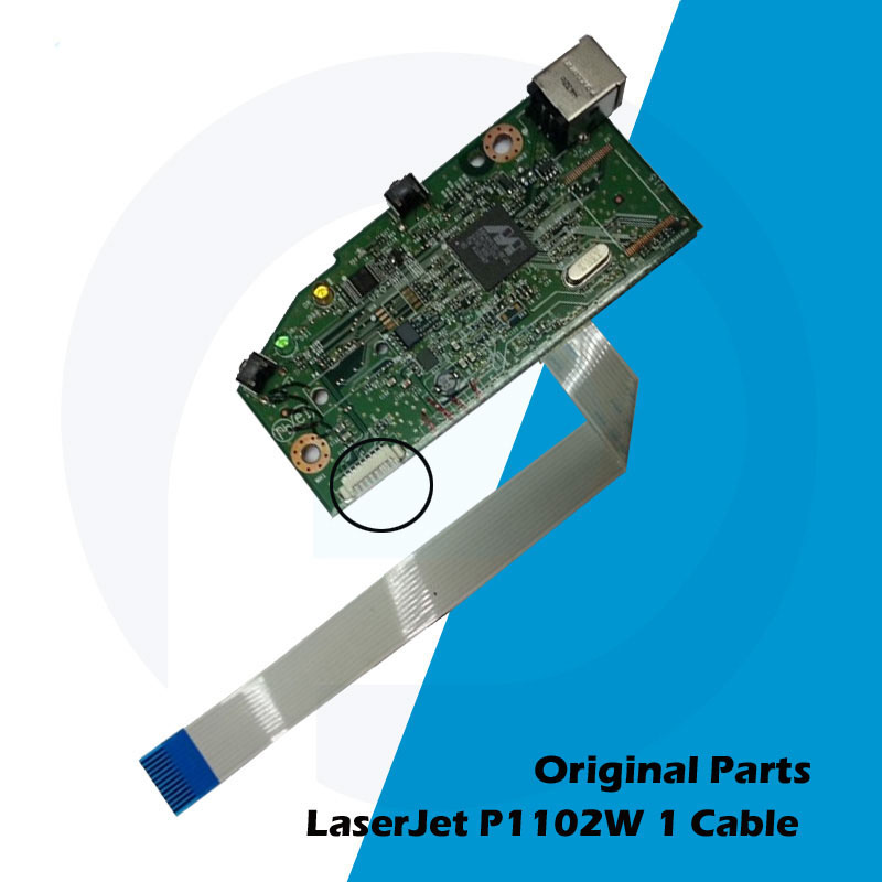 Original New For HP P1102 P1102W 1102 1102W HP1102 HP1102W Main Board Logic Board RM1-7600-000 CE670-60001 CE668-60001