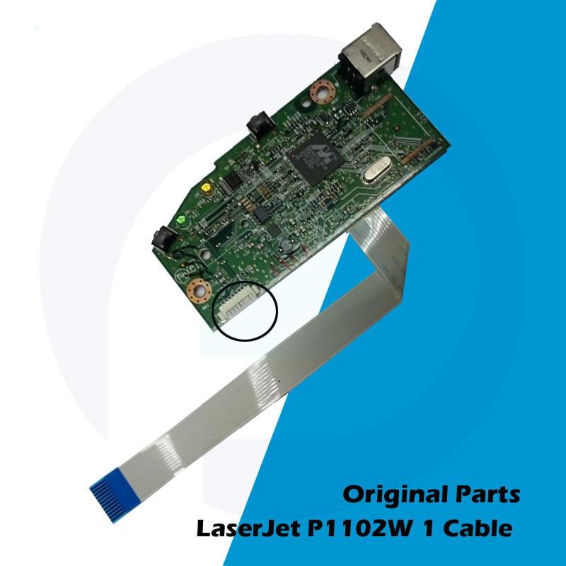 Original New For HP P1102 P1102W 1102 1102W HP1102 HP1102W Main Board Logic Board RM1-7600-000 CE670-60001 CE668-60001