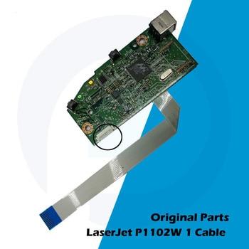 Original New For HP P1102 P1102W 1102 1102W HP1102 HP1102W Main board Logic Board RM1-7600-000 CE670-60001 CE668-60001 mainboard for canon lbp 5300 lbp5300 rm1 4421 formatter board main board on sale