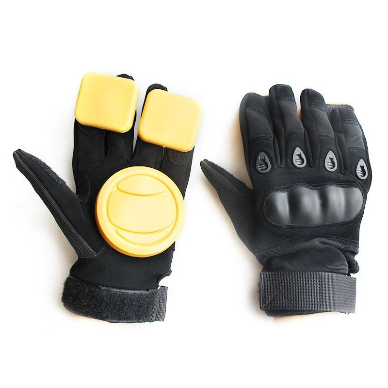 DIY Long Board Slider Gloves Skateboard Turn Gloves Slide Gloves Highway Board Gloves Downhill Brake Gloves