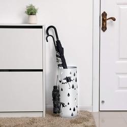 Metal Umbrella Holder, Round Umbrella Stand Rack, Umbrella Storage Bucket