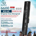 4400mah Bateria Do Portátil para ASUS k52 A32-K52 A31-K52 X52F X52J X52JB X52JC X52JE X52JG X52JK X52JR X52Jt X52JU X52JV X52SG k52j