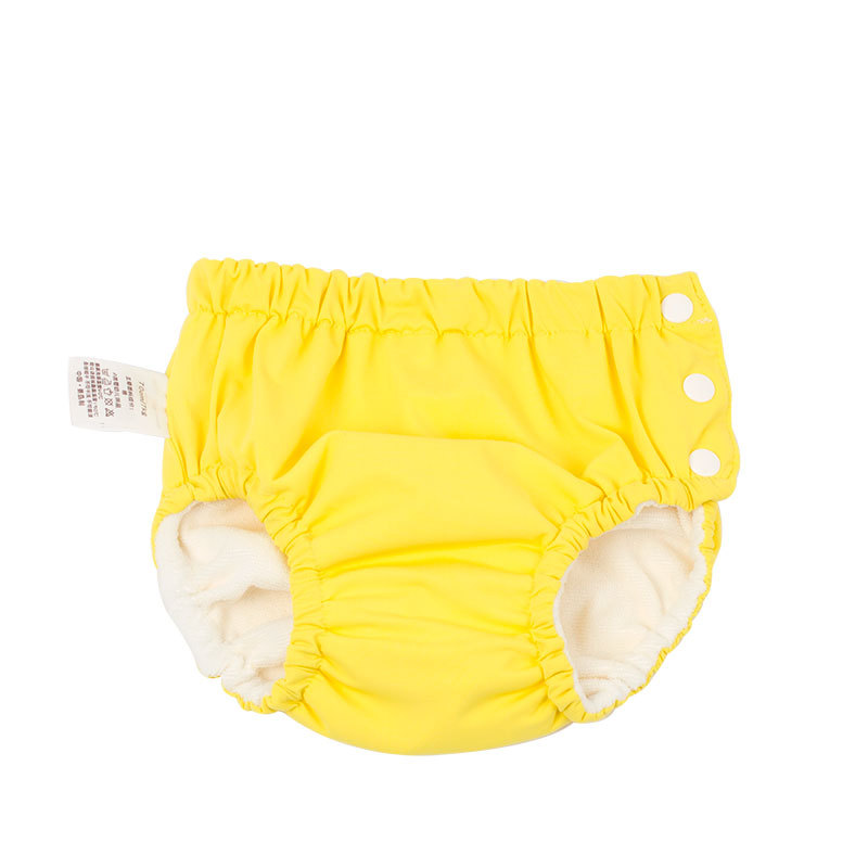 New Style BABY'S Swimming Trunks Side Buckle-Baby Washable Pocket Urine Learn Swimming Trunks Infant Swimming Pool Diaper Pants