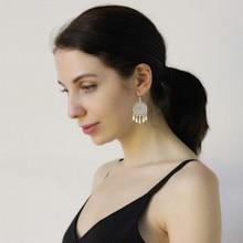 Gypsy 999 Sterling Silver Bohemian Earrings Tassels Round Drop Earring Dangle Ethnic Luxury Jewelry Handmade Women Accessories цена