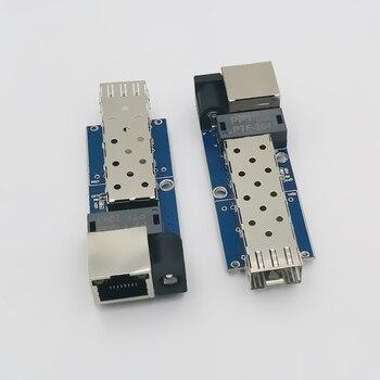 gigabit media converter 10/100/1000Mbps fiber optical  Ethernet switch - discount item  15% OFF Communication Equipment