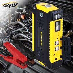 Ładowarka samochodowa awaryjna GKFLY 1600mAh 600A urządzenie do awaryjnego uruchamiania Power Bank 12V przenośne urządzenie do awaryjnego uruchamiania dla benzyny Diesel Booster