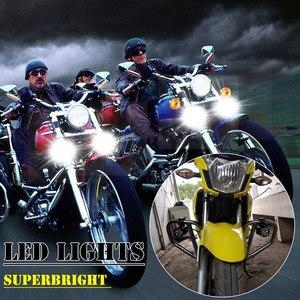 Image 5 - Bộ 2 Đèn LED Sạc Xe Máy 7800 LM Đèn Max 90W 12V 9 Hạt Đèn Moto Xe Máy Đèn Pha chống Thấm Nước Sương Mù Bóng Đèn