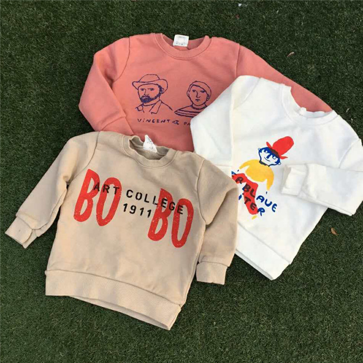 Special Offer BOBO Chose Childrenswear Spring And Autumn New Style Hoodie Children Round Neck Sweater AliExpress Supply Of Goods