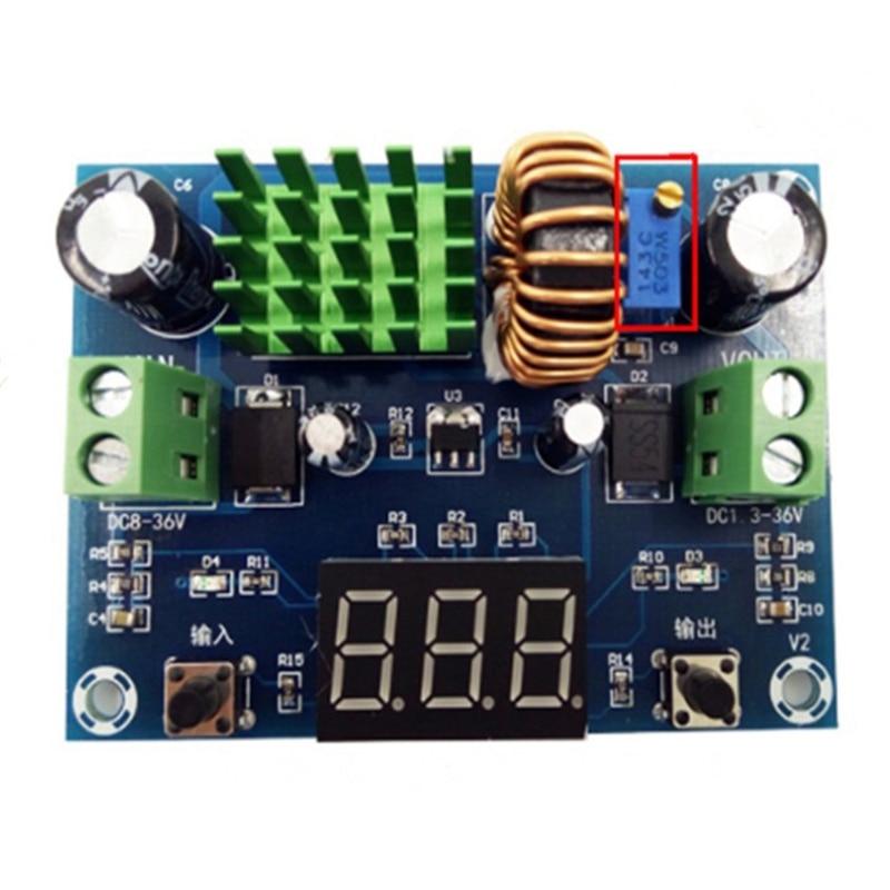 regulador de tensao digitas saida 13 36v atual 5a xh m291 02