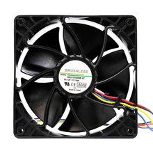 Ventilateur de refroidissement de remplacement, 6500RPM, connecteur à 4 broches pour Antminer Bitmain S7 S9, refroidisseur de PC Master