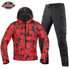 Motorcycle Jacket Waterproof Motocross Suit Cold proof Motorbiker Biker Moto Jacket Wearable Moto Protection Reflective Jacket