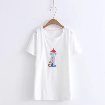 2018 nueva camiseta para mujer, Camisetas estampadas para mujer, camisetas de verano para mujer, ropa informal de manga corta