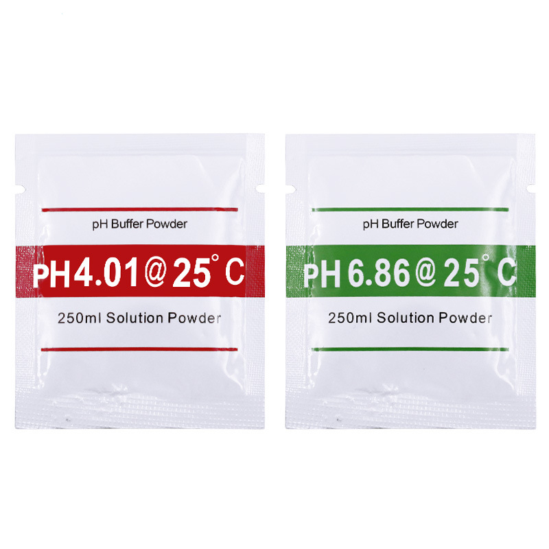 10pcs PH Meter Pen of Tester Accuracy PH Correction Powder 5pcs 4.01 + 5pcs 6.86 Buffer Powder
