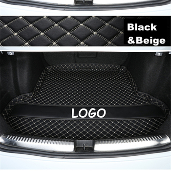 SJ Custom Fit High Side All Weather Car Trunk Mat Tail Boot Tray Liner Cargo Rear Pad For Land Rover Discovery Sport 2015-2018