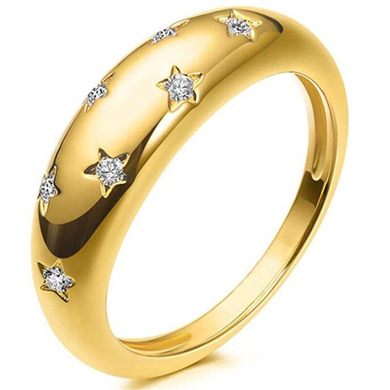 Модные туфли с украшением в виде кристаллов золото кольцо для женщины очаровательные женские полусапожки с индекс аксессуары для пальцев Е...