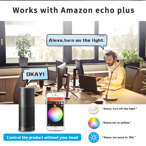 Image 5 - Smart Home ZigBee Voice Control RGBW 4W MR16 Birne DC12V LED RGBCCT Scheinwerfer Farbe und Weiß Smart LED Arbeit mit Echo Plus Hub