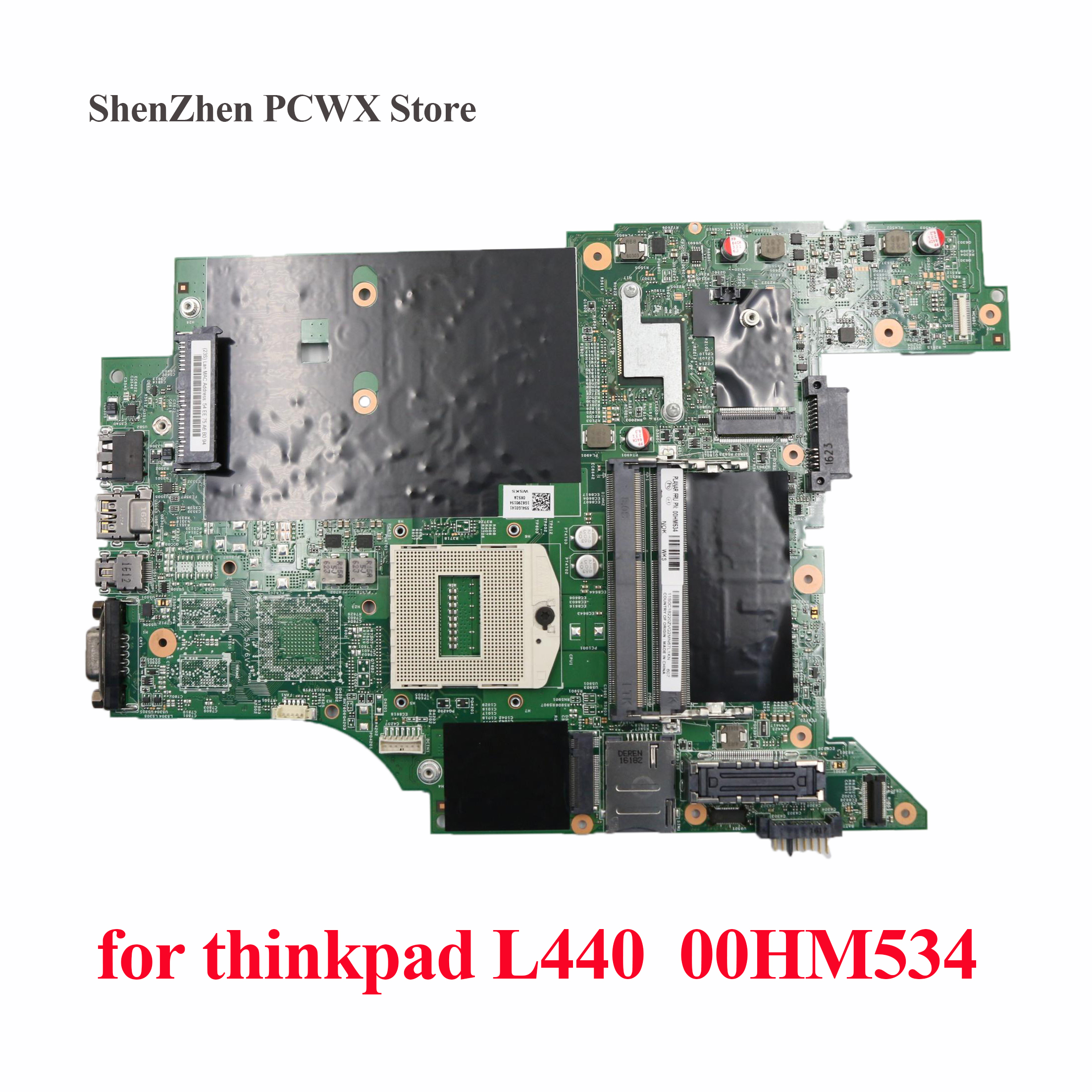 Integrated Motherboard for Lenovo ThinkPad L440 Computer Mainboard 00HM534 100% fully Tested Integrated Graphics Card