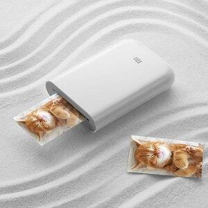 Image 5 - Carta fotografica adesiva con stampa tascabile Xiaomi 50 fogli imaging monouso senza inchiostro stampa carta fotografica di alta qualità 3 pollici