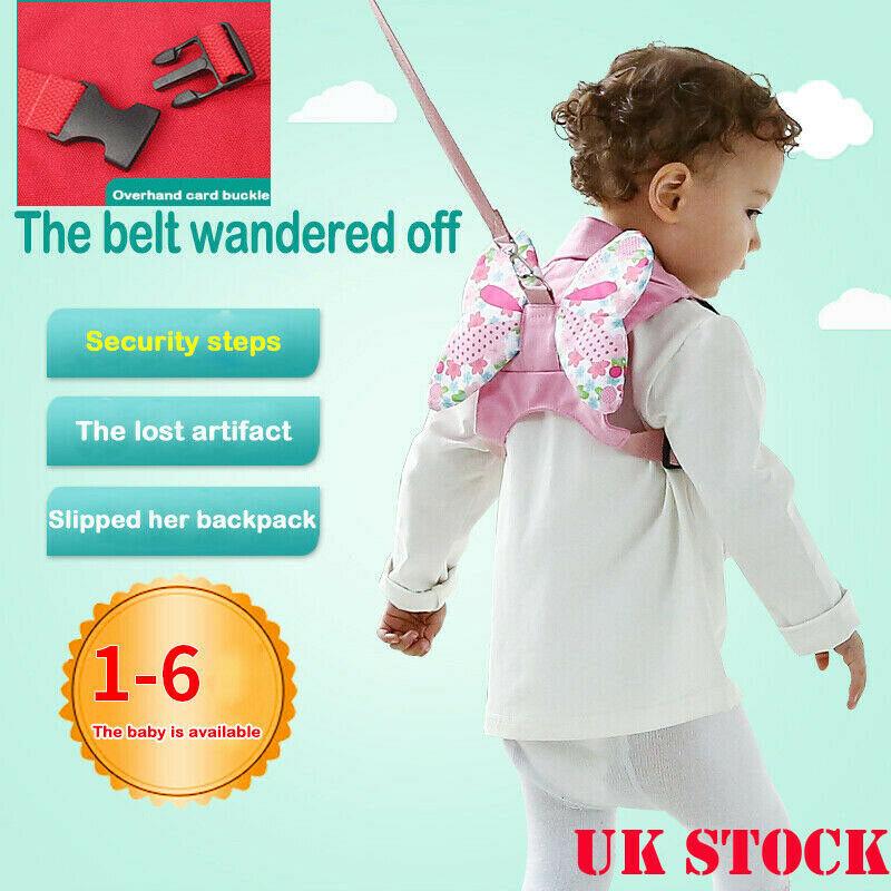 Baby Walker Safety Anti-lost Cartoon Wings Toddler Leash For Children's Belt Baby Walking Assistant Kid Walker Harness