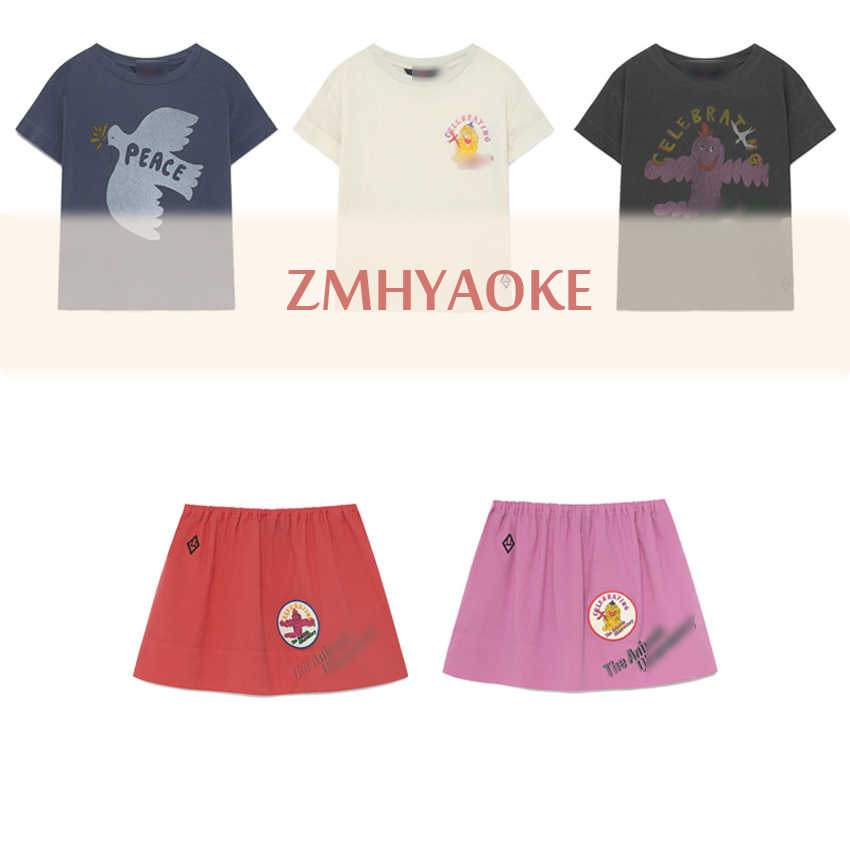 Pre-sale ZMHYAOKE-TAO 2020  Spring New Baby Girl T-shirt Toddler Girl Clothes Thanksgiving Shirt Baby Boy Clothes Girls Tops