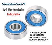 Bicycle Hub Hybrid Ceramic Bearing FREESPORT 1 Pcs High Speed Bike For MTB Mountain Road cycling Hubs