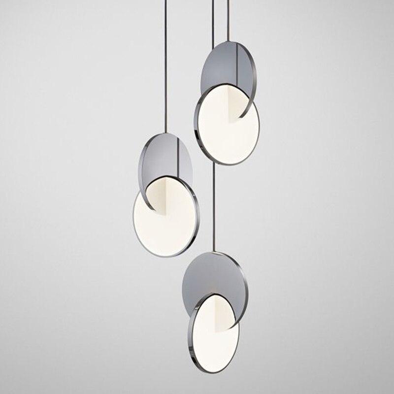 Modern Hanglamp Iron Home Decoration E27 Light Fixture  Living Room