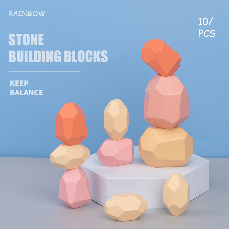 Hot Selling New Product Wooden Imitation colored stone Folding Music Children's Folding High Educational Toy Accessories Woody