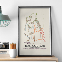Canvas Painting Posters And Prints Pictures On The Wall Jean Cocteau Frence Modern Artist Abstract Decorative Home Decor Plakat
