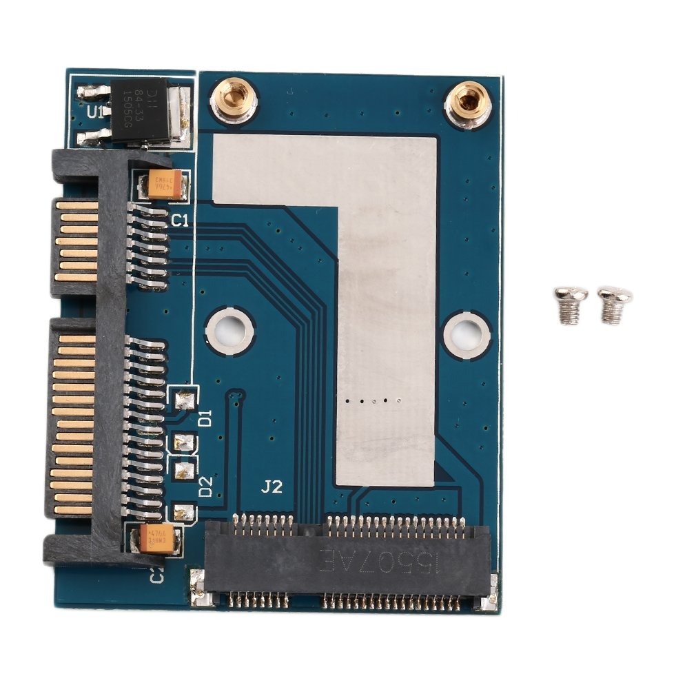 New Hot Mini PCI-e MSATA To 2.5