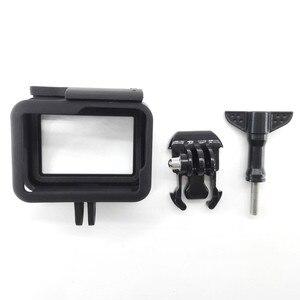 Image 5 - Koruyucu çerçeve kılıf standart açık kabuk + uzun vida + taban montaj GoPro Hero 5 siyah
