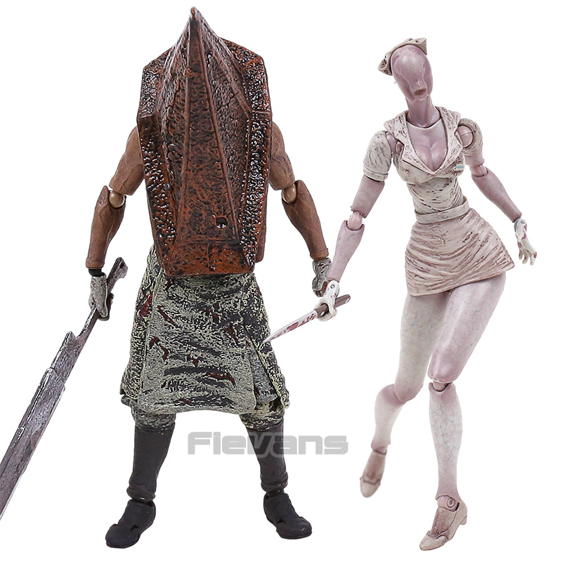 Silent Hill 2 Bubble Head Nurse Figma SP-061 / Red Pyramd Thing SP-055 PVC Action Figure Collectible Model Toy